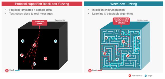Black Box VS White Box Fuzzing