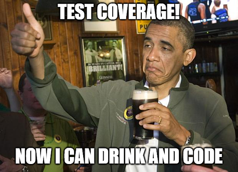 Test Coverage Meme