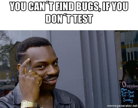 your pipeline cant fail if you don't test