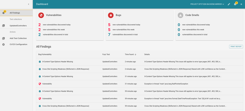 CI Fuzz DP3T Covid-19 found vulnerabilities in Corona App